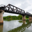 bridge over the river kwai — Stock Photo