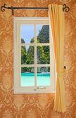Beautiful curtain — ストック写真