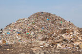 Mountain of garbage — Stock Photo