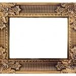 Love gold frame — Stock Photo #22859218