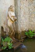 Bali spa statue — Stock Photo