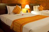 Balinese Style Bedroom — Stock Photo