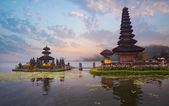 Pura Ulun Danu Bratan temple — Stock Photo