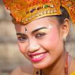Girl during a classic national Balinese — Stock Photo