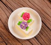 Flower Cake — Foto Stock