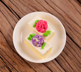 Bloem taart — Stockfoto