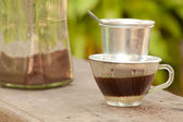 Vietnamese coffee — Photo