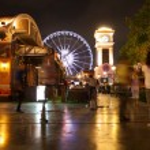 Ferris wheel at night — Stock Photo #41440925