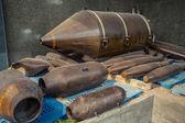 Aircraft Bombs — Stock Photo