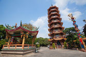 Kinesiskt tempel i thailand — Stockfoto
