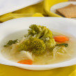 Royalty-Free Stock Photo: Soup with broccoli