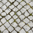 Typical portuguese stone pavement — Stock Photo