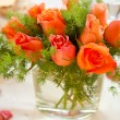 Bouquet on the table — Stock Photo