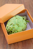 Artichoke in box — Stock Photo