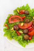 Ensalada con pistachos — Foto de Stock