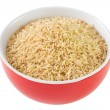 Rice integral in bowl — Stock Photo