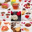 Collage Valentines day — Stock Photo