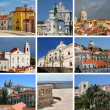 Collage of Lisbon — Stock Photo