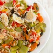 ������, ������: Rice with vegetables and seafood