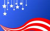 American-background — Stock Vector