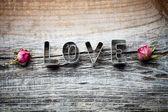 Cortador de la galleta del amor — Foto de Stock