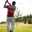 Man playing golf — Stock Photo #12316617