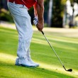 Man playing golf — Foto de Stock