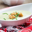 Stock Photo: Zucchini soup