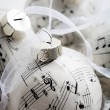 Christmas baubles — Stockfoto