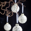 Christmas baubles — Stock fotografie #15760729