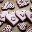 Valentine's Day cookies — Stock Photo #19050827