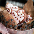 Valentine's Day cookies — Stock Photo