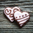 Stock Photo: Valentine's Day cookies