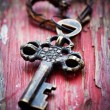 Old key — Foto Stock #19562263