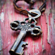 Old key — Stock Photo #19562263
