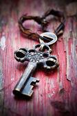 Oude sleutel — Stockfoto