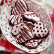 Heart cookies - Stock Photo
