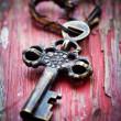 Old key — Stock Photo