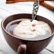 hot chocolate&quot — Stock Photo #21564583