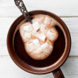 hot chocolate&quot — Stock Photo #21564609