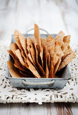 Rye crackers — Stock Photo