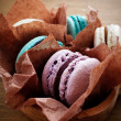 French macaroons — Stockfoto