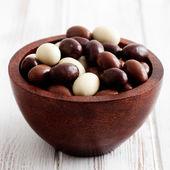 Chocolate easter eggs — Stock Photo