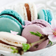 Stock Photo: French macaroons
