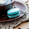 Coffee with macaroons — Stock Photo #25743089
