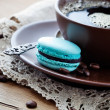 Coffee with macaroons — Stock Photo #25743091