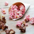 Stock Photo: Chocolate popcorn