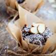 Chocolate muffins — Stockfoto