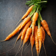 Stock Photo: Fresh carrots