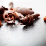 Chocolate curls — Stock Photo